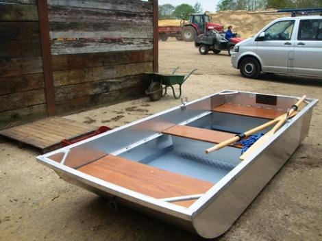 Heyland Guddle Aluminium Boat