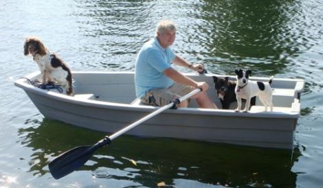 Heyland Sturdy 320 Rowing Boat3