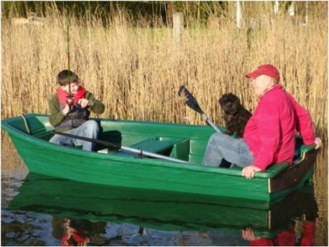 Heyland Sturdy 320 Rowing Boat5