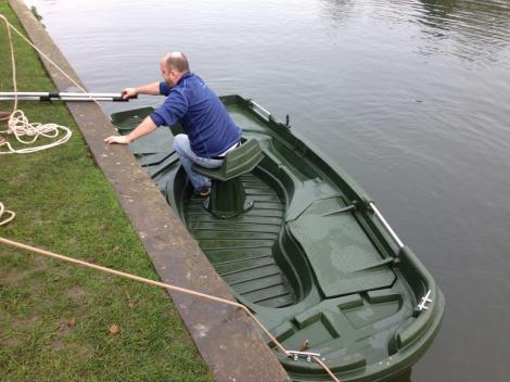 Heyland Sturdy 350 Rowing Boat4