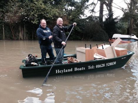 Heyland Sturdy 400 Rowing Boat15