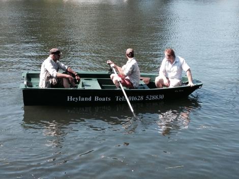 Heyland Sturdy 400 Rowing Boat16