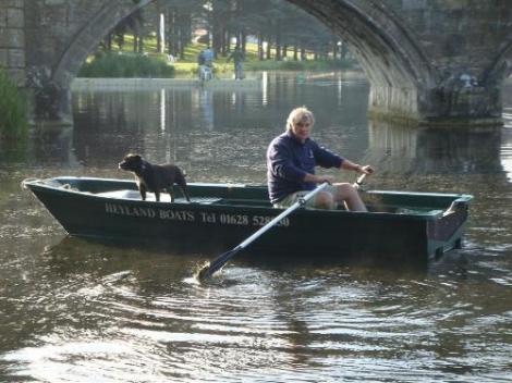 Heyland Sturdy 400 Rowing Boat4