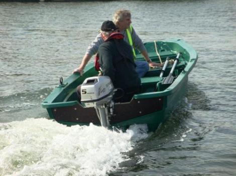 Heyland Sturdy 400 Rowing Boat6