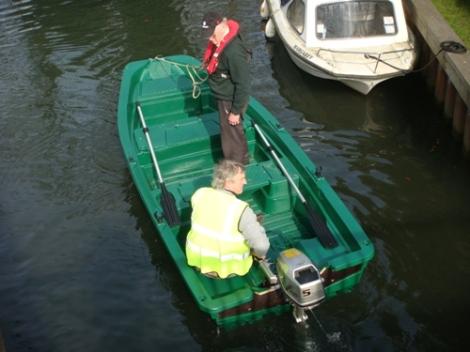 Heyland Sturdy 400 Rowing Boat7