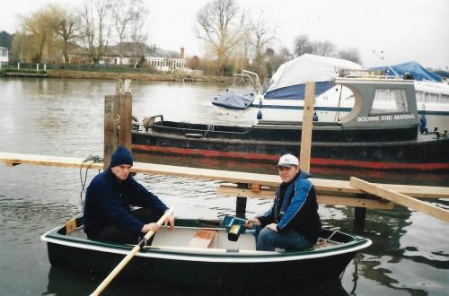 Heyland Swan Rowing Boat10