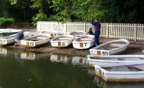 Heyland Swan Rowing Boat3