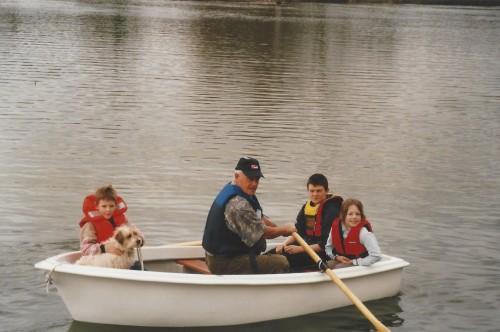 Heyland Swan Rowing Boat9