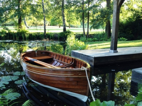 Traditional Wooden Clinker Rowing Boat6