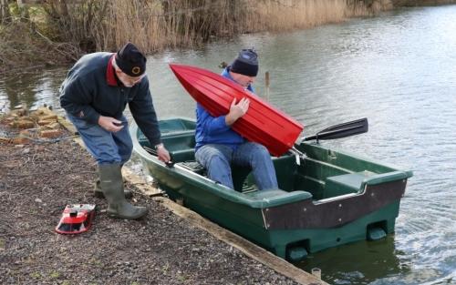 Heyland Sturdy 320 Rowing Boat23