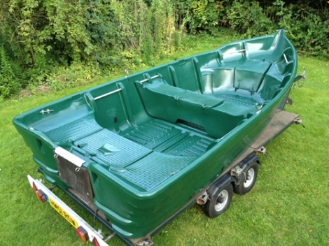 Heyland Kingfisher 430 Hire Boat2